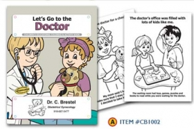 Promotional products: Coloring book: Doctor