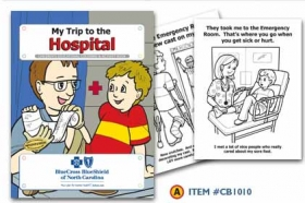 Promotional products: Coloring book: Hospital