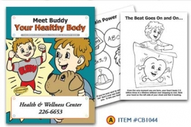 Promotional products: Coloring book: Healthy Body