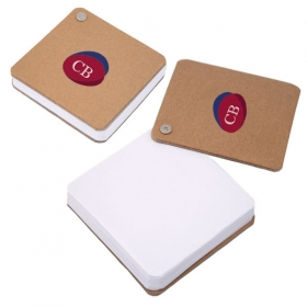 Promotional products: Recycled Cardboard Pivot Pad - White