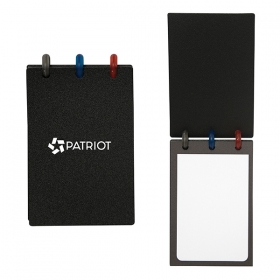 Promotional products: Colorspin Rectangle Jotter