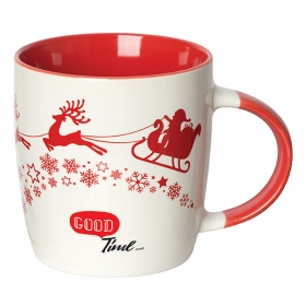 Promotional products: Jolly Sipper 350 Ml. (12 Oz.) Christmas Mug