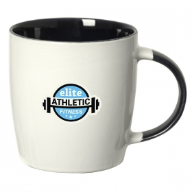 Promotional products: Koho 350 Ml. (12 Oz.) Mug With Coloured Handle