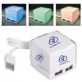 Promotional products: LIGHT UP USB HUB