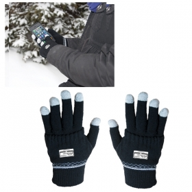 Promotional products: TOUCH SCREEN GLOVES WITH GLOVE COVERS