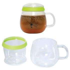 Promotional products: 500 ML. (16 OZ.) TEA CUP WITH INFUSER