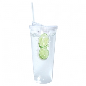 Promotional products: 600 Ml. (20 Oz.) Large Fruit Infuser Tumbler