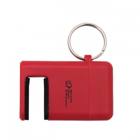 Promotional products: PHONE PAL PHONE HOLDER WITH KEYCHAIN AND SCREEN CLEANER