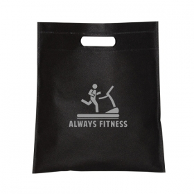 Promotional products: Small Non Woven Cut-out Handle Tote