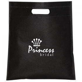 Promotional products: NON WOVEN CUT-OUT HANDLE TOTE