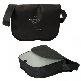 Promotional products: THE MOVER NON WOVEN MESSENGER BAG