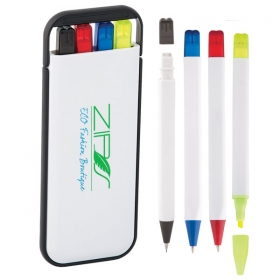 Promotional products: 4-in-1 Pen Set