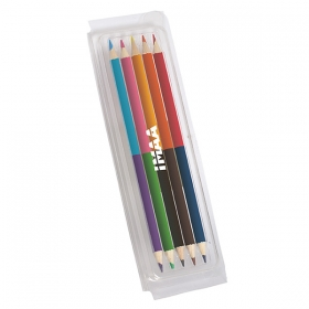Promotional products: Creative Cat Coloured Pencil Set