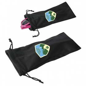 Promotional products: Sandy Banks Microfiber Pouch For Sunglasses