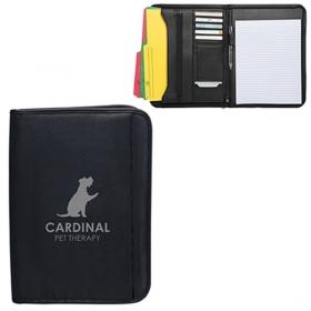 Promotional products: Zippered Notepad Portfolio