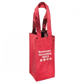 Promotional products: HOLIDAY WINE BAG