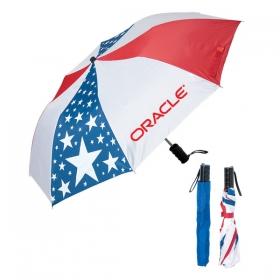 Promotional products: FOLDING USA UMBRELLA