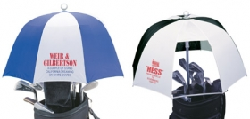 Promotional products: GOLF BAG COVER UMBRELLA