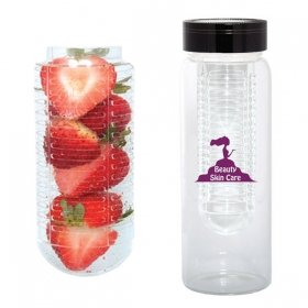 Promotional products: 500 ML. (16 OZ.) WATER BOTTLE WITH FRUIT INFUSER