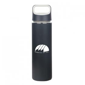 Promotional products: High Tide 550 Ml. (18.6 Oz.) Borosilicate Glass Bottle