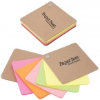 Promotional products: RECYCLED CARDBOARD PIVOT PAD � NEON COLOURS