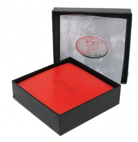 Promotional products: Boxed Coaster Set - Avalon Leather