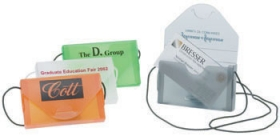 Promotional products: Business Card Case with Cord