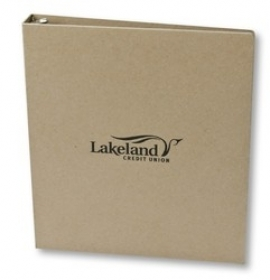 "Promotional products: 1"" Round Ring Binder"