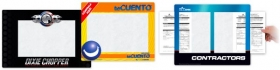 Promotional products: Barely There Ultra Thin Counter Mats With Window