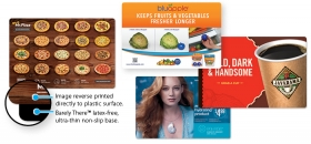 Promotional products: Barely There Ultra-thin Counter Mat