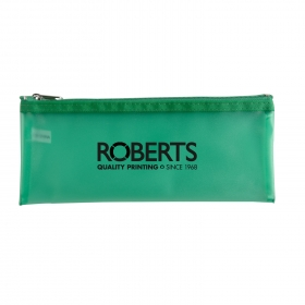 Promotional products: Frosted pencil pouch