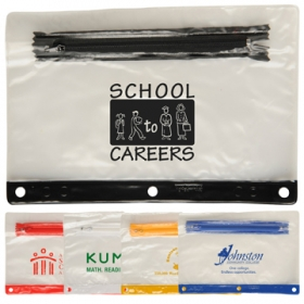 Promotional products: School pouch