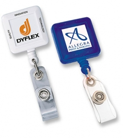 Promotional products: Square secure-a-badge™
