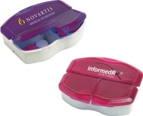 Promotional products: Tri-minder pill box