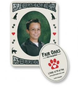 Promotional products: Oval Photo Magnet