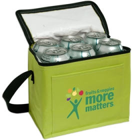 Promotional products: 6-pack Cooler