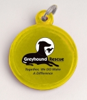 Promotional products: Round reflector id tag