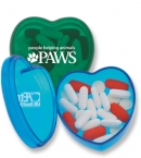 Promotional products: Heart pill box