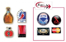 Promotional products: Digi-cal lapel pins