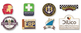 Promotional products: Cloisonne plus lapel pins