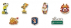 Promotional products: Die Struck Soft Enamel Lapel Pins