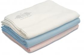 Promotional products: Fleece baby blanket 28x42