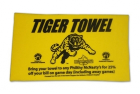 Promotional products: Fleece Rally Towel 15x15