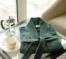 Promotional products: Micro Suede Bathrobe