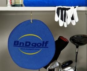 """Promotional products: Microfiber Terry Golf Towel 11"""""""