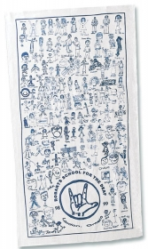 Promotional products: Twill Promo Tea Towel