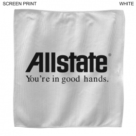 Promotional products: Promo Microfiber Rally Towel 15x15