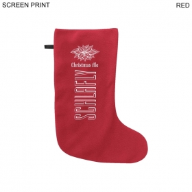 """Promotional products: Holiday Stocking, 17"""" Long, 20 Colors"""