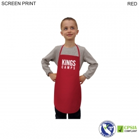 Promotional products: Kids Twill Bib Apron, 4 To 9 Years