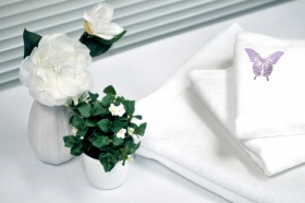 Promotional products: Sheared Towel Set 3 pc